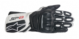 Alpinestars Stella SP8 V2 Ladies Gloves Black White
